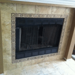 Decorative fireplace