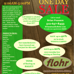 One Day Flooring Sale!