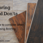 Flooring Dos and Dont's From Your Austin Flooring Experts