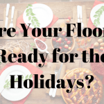Purchase new flooring before the holidays