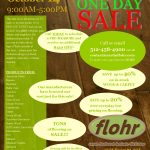 October 14th – One Day Flooring Sale!